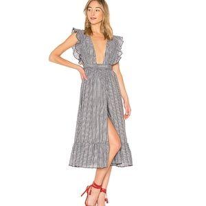 NWT Majorelle MISTWOOD DRESS IN LIQUORICE xs